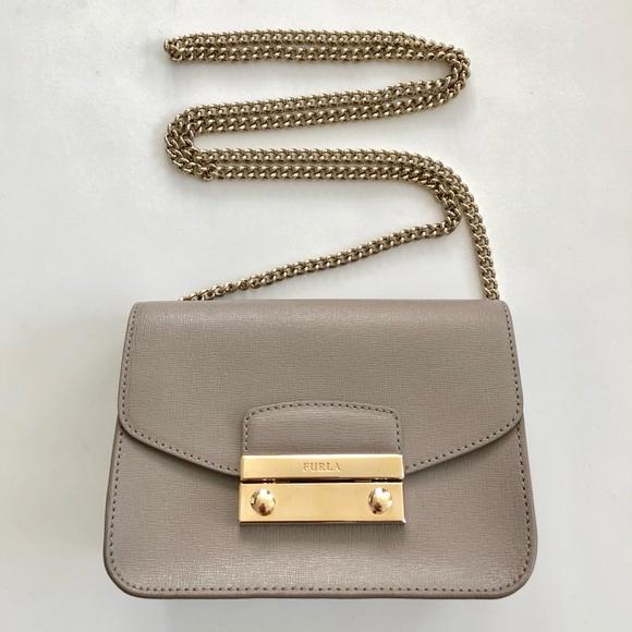 6fce012919b0 Furla Handbags - Furla Julia Mini Saffiano Leather Crossbody